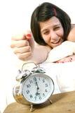 агрессивныйая женщина стоковое изображение rf