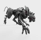 агрессивныйая пантера cyber одичалая Стоковая Фотография
