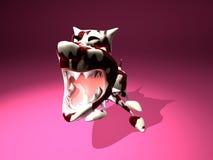 агрессивныйая собака Стоковая Фотография RF