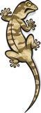 агрессивныйая ящерица Бесплатная Иллюстрация