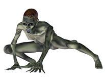 Агрессивныйое зомби Стоковое Изображение RF