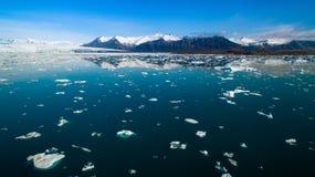 лагуна Исландии ледника Стоковое Изображение RF