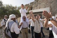 Адвокатское сословие Mitzvah, Иерусалим, Израиль стоковое фото