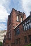 Административное здание кампуса ориентира в Milwaukee стоковое изображение rf