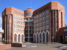 административное здание самомоднейшее Стоковая Фотография RF