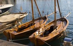 адриатическая Хорватия видит яхту Стоковое фото RF