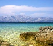 адриатическая Хорватия видит Стоковая Фотография RF