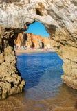 адриатический взгляд моря Италии пляжа Стоковое Изображение