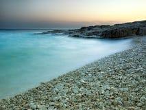 адриатический пляж Стоковое фото RF