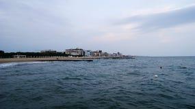Адриатическое море в Италии Стоковая Фотография