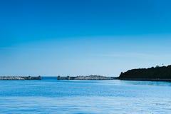 адриатическое море гавани строба Хорватии vrsar Стоковая Фотография