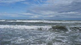 Адриатическое море Италии Стоковое Изображение