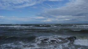 Адриатическое море Италии Стоковое Изображение RF