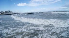 Адриатическое море Италии Стоковая Фотография RF