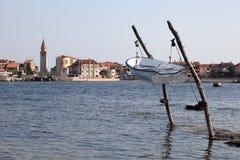 адриатическое море Хорватии свободного полета Стоковая Фотография RF