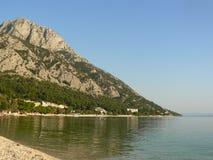 адриатическое море Хорватии Стоковая Фотография RF
