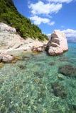 адриатическое море Хорватии стоковые изображения