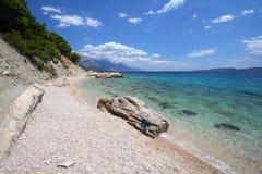 адриатическое море Хорватии стоковое изображение