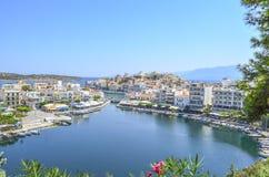 Ажио Nikolaos Крит стоковая фотография rf