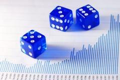 азартная игра дела Стоковая Фотография