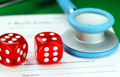 Азартная игра здоровья Стоковая Фотография RF
