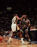 Азартная игра Кевина, Celtics Бостона Стоковая Фотография
