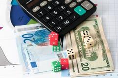Азартная игра фондовой биржи Стоковые Изображения RF