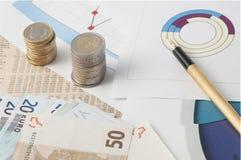 Азартная игра фондовой биржи Стоковые Изображения