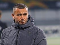 Азербайджанский менеджер футбола и бывший футболист Gurban Gurbanov стоковые фото
