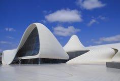 _ Азербайджан - 10-ое сентября - 2016: Центр Heydar Aliyev стоковое изображение