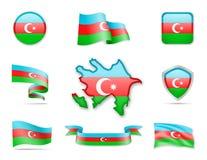 Азербайджан сигнализирует собрание Стоковое Фото