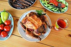 Азербайджанский цыпленок Lavangi Стоковое Изображение RF