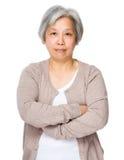 азиатская бабушка Стоковые Изображения RF