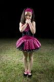 азиатская балерина снаружи Стоковое Фото