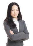 Азиатская бизнес-леди стоковое фото
