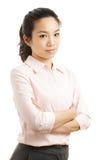 Азиатская бизнес-леди стоковое изображение rf