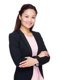 Азиатская бизнес-леди стоковое фото rf