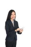 Азиатская бизнес-леди стоковое изображение
