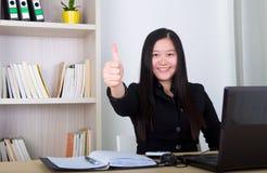 Азиатская бизнес-леди Стоковые Фотографии RF