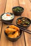 Азиатская вегетарианская еда Стоковое Фото