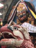 Азиатская голова дракона Стоковые Фотографии RF