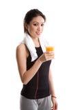 азиатская девушка здоровая Стоковая Фотография RF