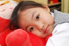 азиатская девушка немногая Стоковые Изображения RF