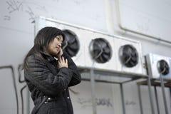 азиатская девушка стоковые изображения