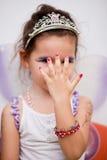 Азиатская девушка в fairy платье Стоковое Изображение