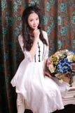 азиатская девушка Стоковые Фотографии RF