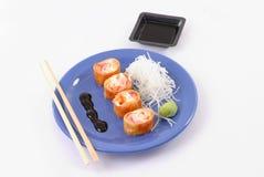 азиатская еда Стоковое Изображение