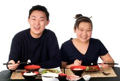 Азиатская еда. Стоковые Изображения RF