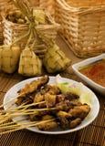 Азиатская еда Malay стоковая фотография rf