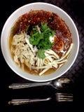 Азиатская еда, пасть рыб Стоковые Фотографии RF